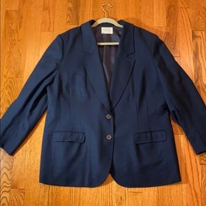 Woman's plus size Pendleton Jacket Navy